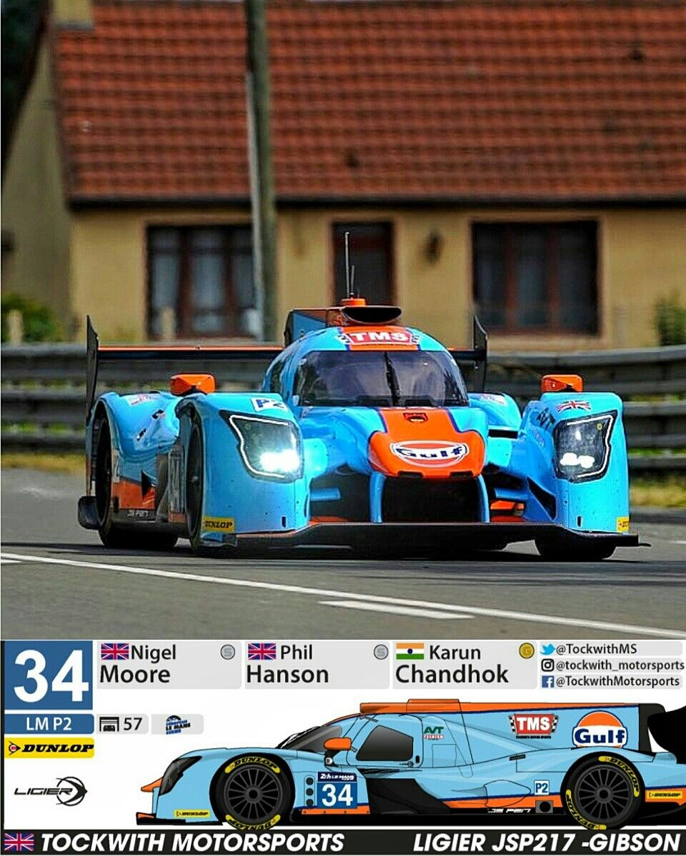 le mans 2017 the famous blue and orange racing colours of gulf oil will be carried on the. Black Bedroom Furniture Sets. Home Design Ideas