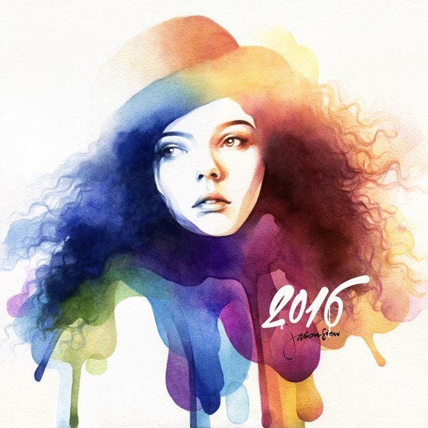 Colour Of Love Watercolour Portrait By Jason Siew Illustrious