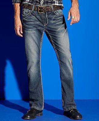 INC International Concepts Jeans, Core Slim Fit Bootcut Vie Jean ...