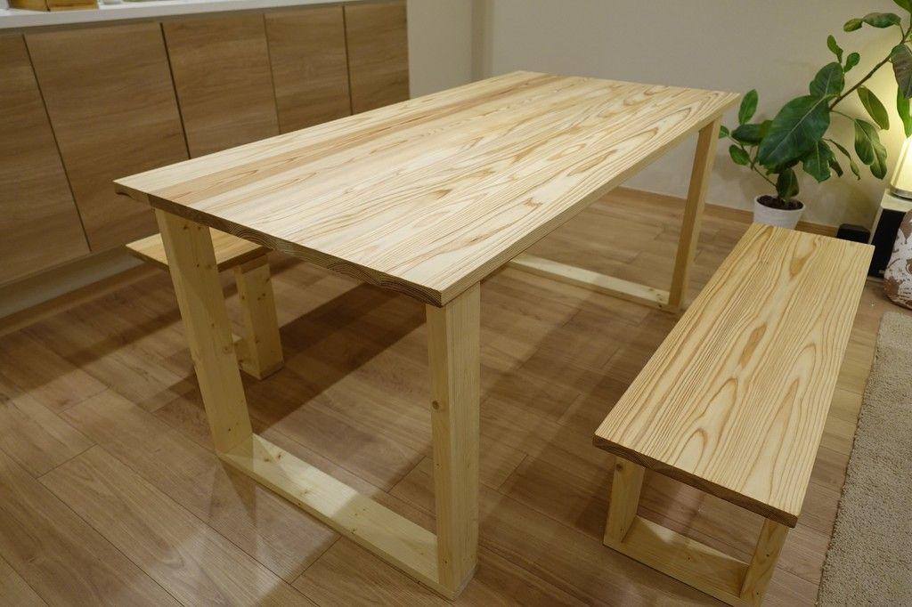 Diy ダイニングテーブル ベンチ テーブルベンチ ベンチ Diy 作り方 ダイニングテーブル Diy 作り方