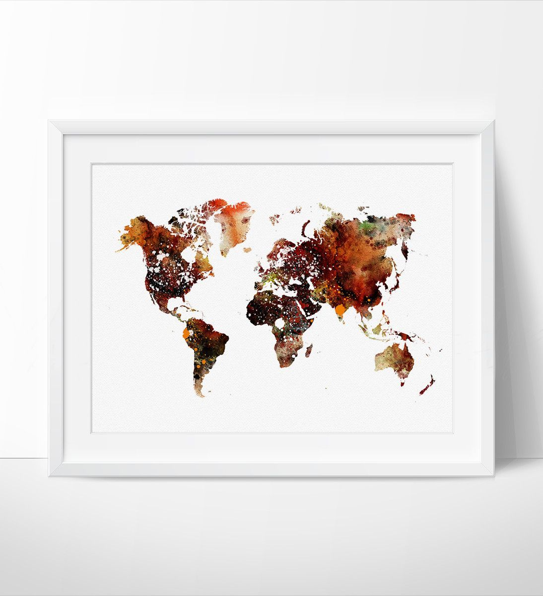 World map poster world map art colorful abstract world map world map poster world map art colorful abstract world map watercolor map art print travel map 103 gumiabroncs Choice Image