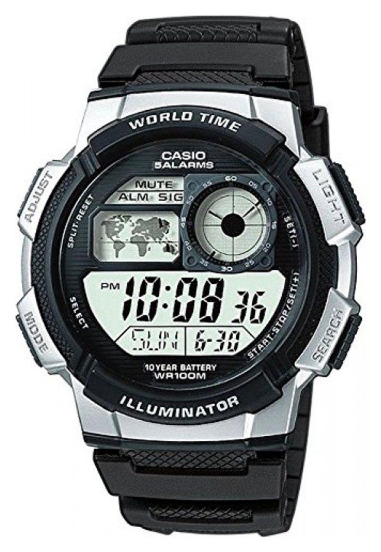 Buy Casio Men's Black Resin Strap Watch Men's watches