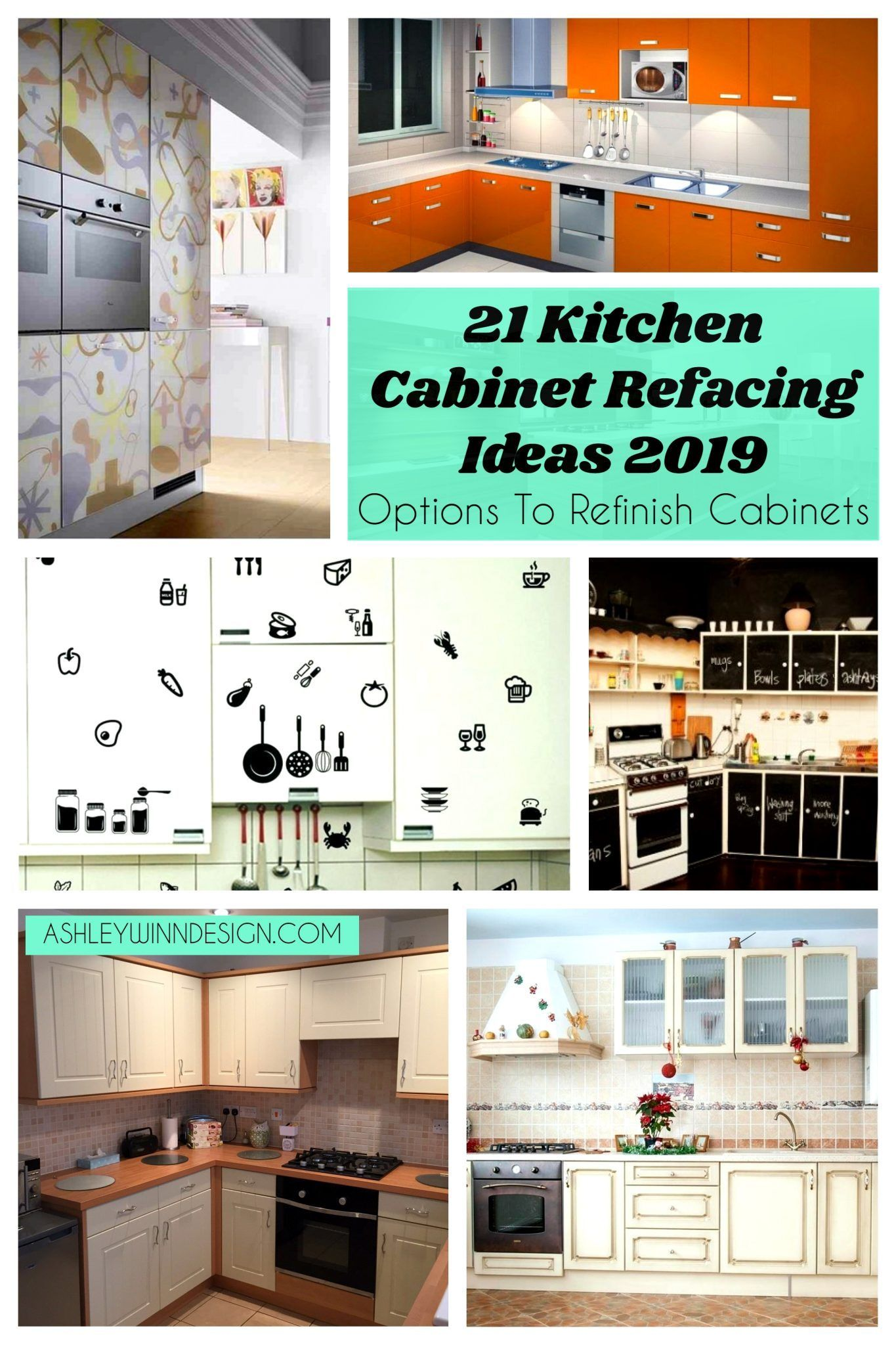 20 Kitchen Cabinet Refacing Ideas In 2021 Options To Refinish Cabinets Diy Kitchen Cabinets Refacing Kitchen Cabinets Kitchen Cabinets