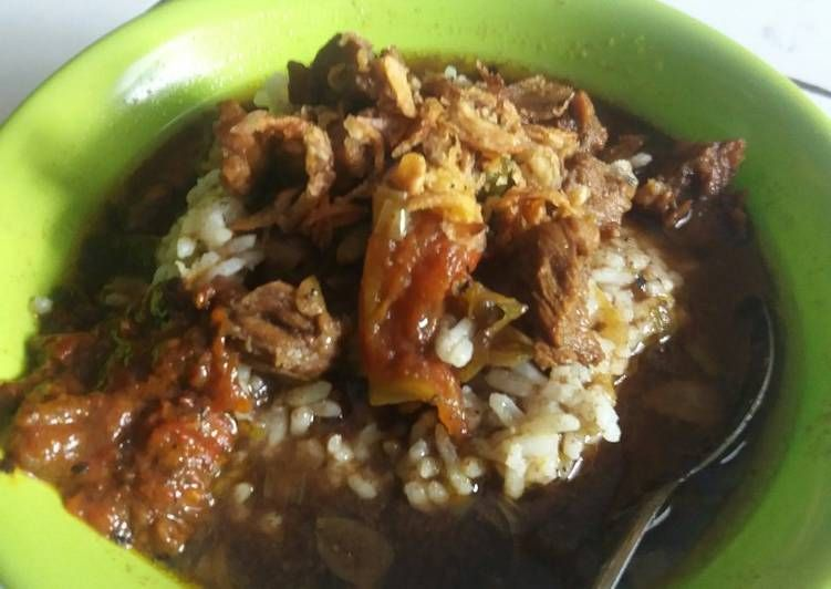 Resep Rawon Daging Sapi Oleh Yuni Wulandari Resep Resep Daging Sapi Daging