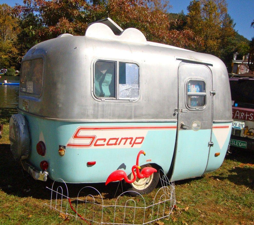 Gorgeous Vintage Camper Exterior Inspiration 05 Travel Trailers