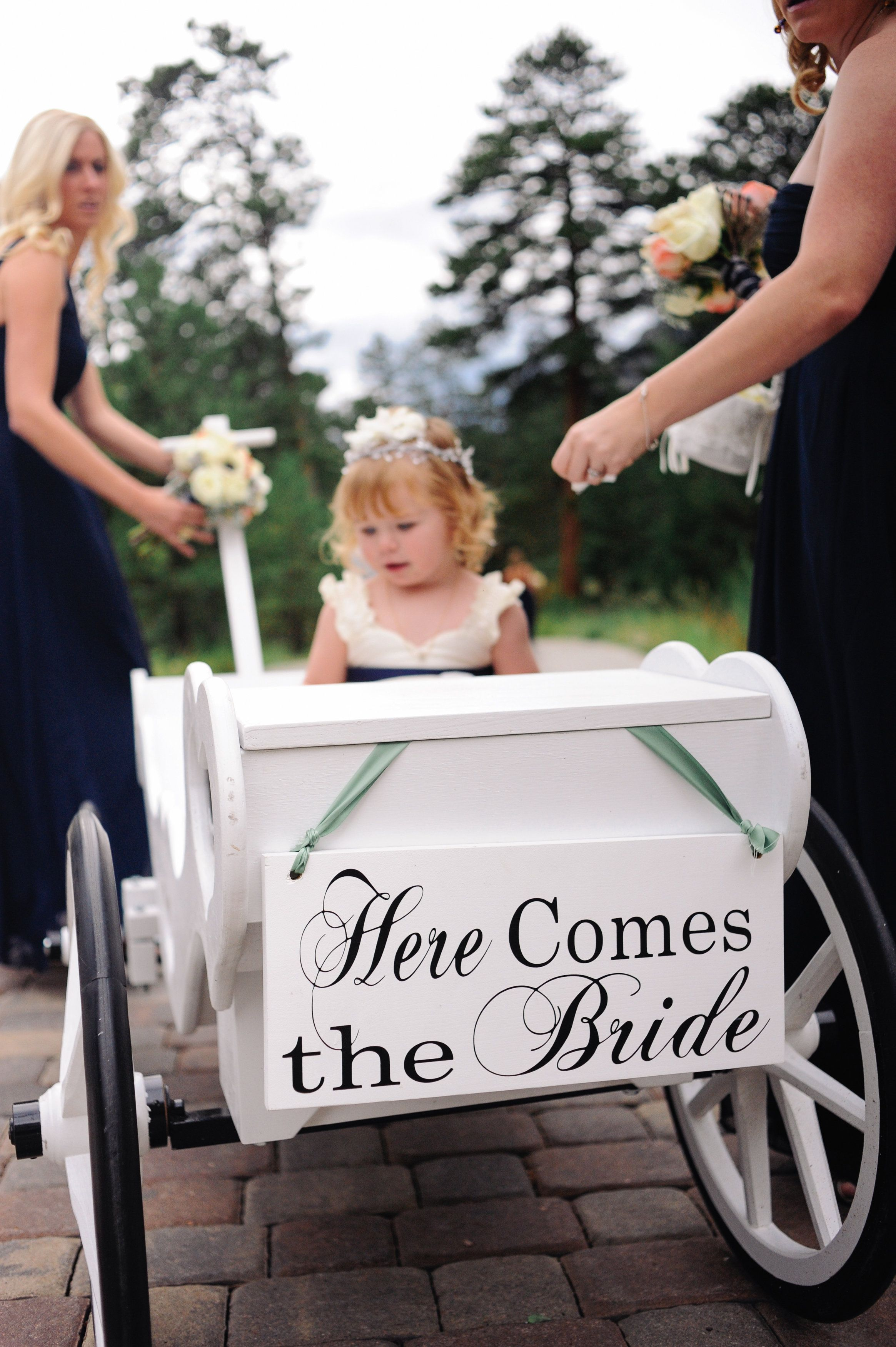 Vows new Amish hand crafted wagon is an adorable way to