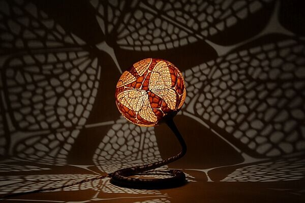 These Beautiful Gourds Lamps Come to Life At Night
