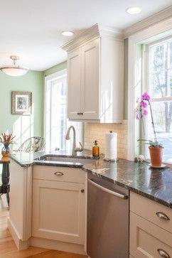 Chelmsford MA Cozy Kitchen - traditional - kitchen - boston ...