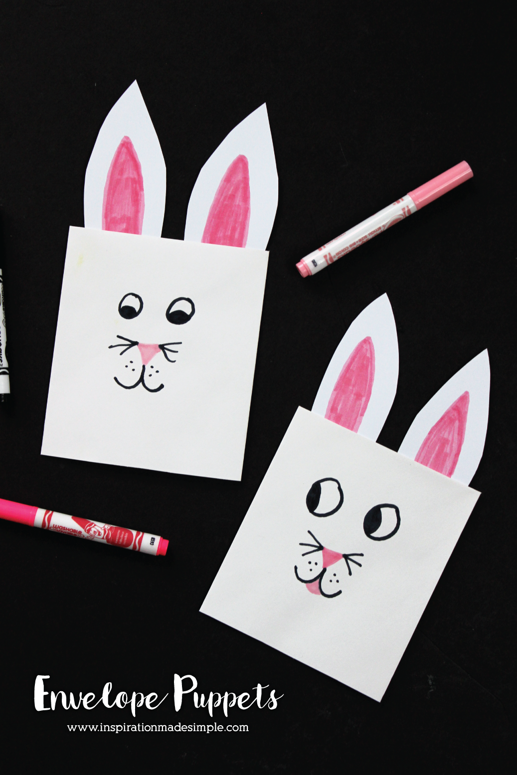 How to Make Bunny Envelopes for Easter