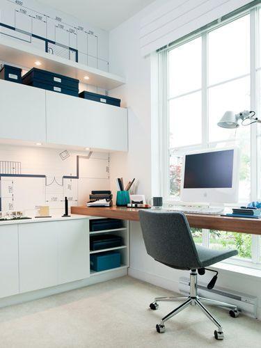 | Creative Workspace | Beautiful Home Office | Office Design | #inspiration #creativeworkspace #officedecor