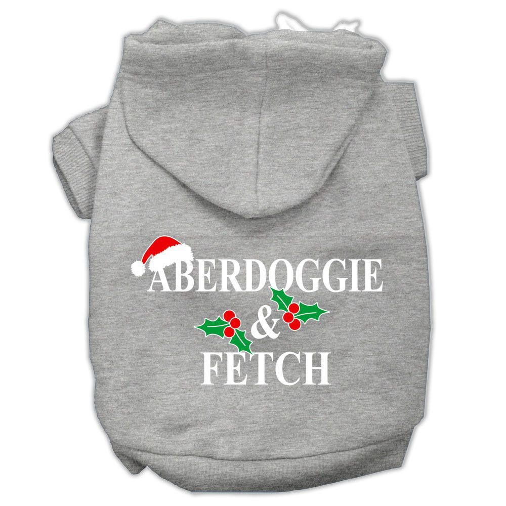 Mirage - Aberdoggie & Fetch Christmas Dog Hoodie