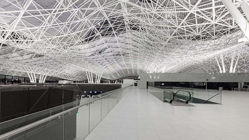 The Latest Passenger Terminal At Franjo Tudman International Airport Zagreb American Architecture Architecture Zagreb