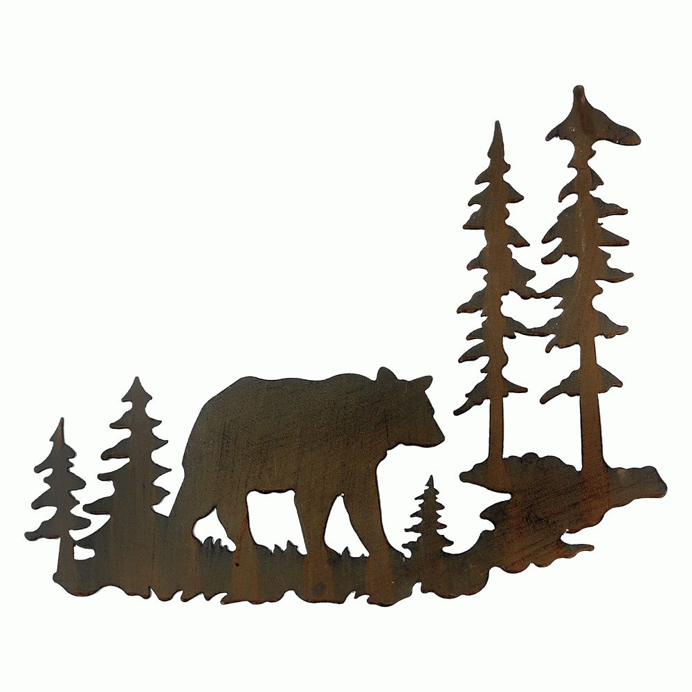 found on bing from tany net bear wall art metal tree on wall art id=43381