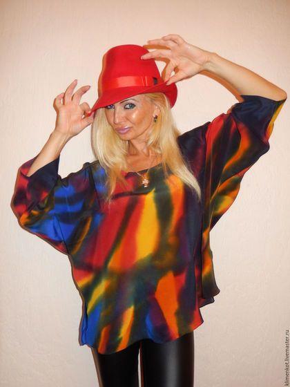 78bc44740fd Блузки ручной работы. Ярмарка Мастеров - ручная работа. Купить блуза  -Самоцветы. Handmade