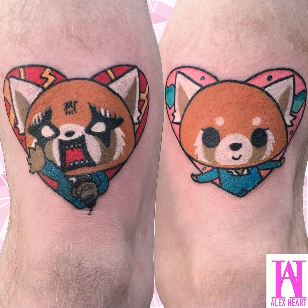 Pin On Tattoos By Alex Heart Anime Disney Nerdy Tattoos