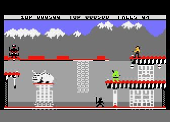 Bruce Lee, one of my favorite Commodore 64 games  | Computer