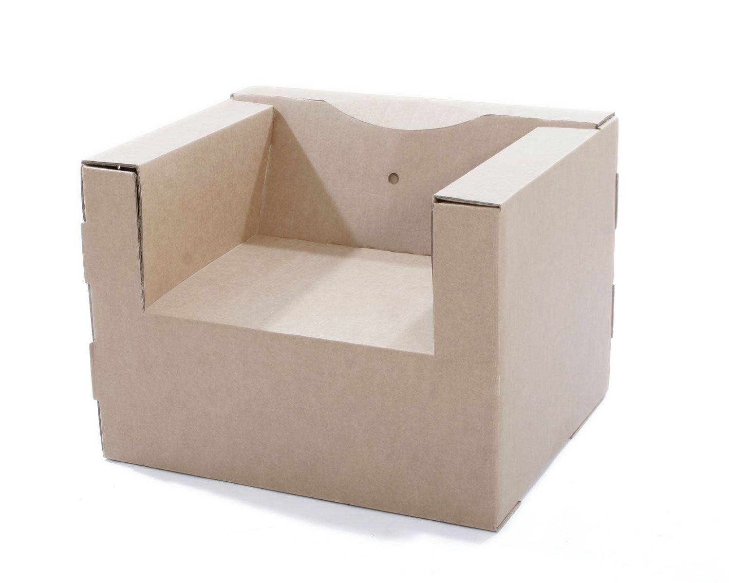 Cardboard rocking chair - Cardboard Chair