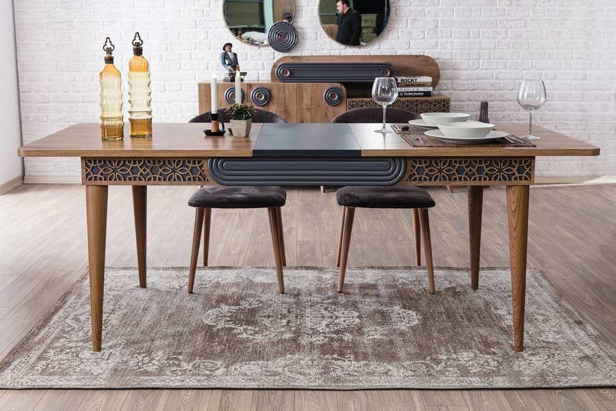 weltew akustik salon masa sandalye takimi mobilya yemek masasi mobilya fikirleri