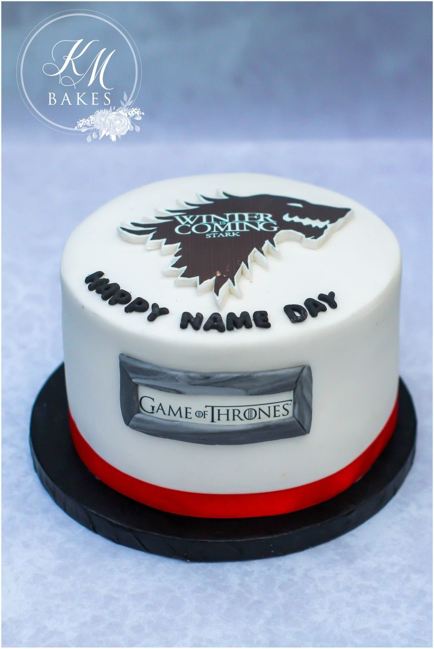 Simple And Easy Game Of Thrones Cake Perfect For Any Man In Your
