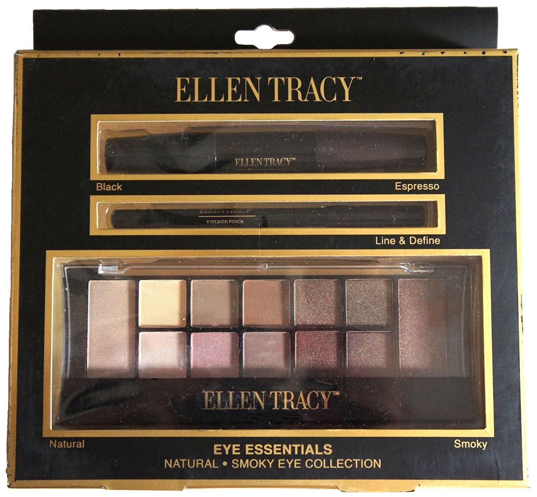 Ellen Tracy Eye Essentials, Mascara, Eyeliner, Eyeshadow