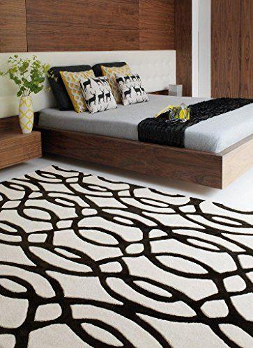 Teppich Wohnzimmer Carpet modernes Design MATRIX WIRE WELLEN RUG