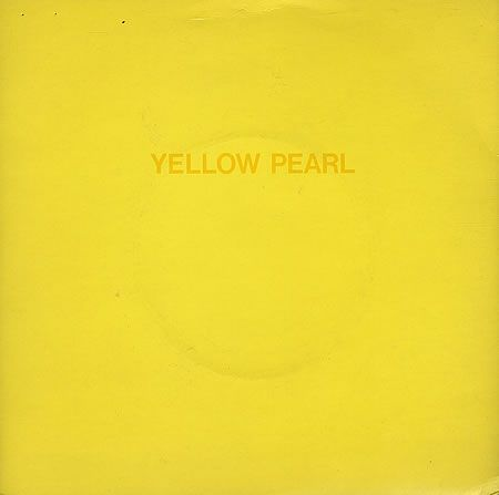 """Phil Lynott Yellow Pearl - Clear Vinyl + Sleeve Uk 7"""" Vinyl Single (7 Inch Record) Phil Lynott Yellow Pearl - Clear Vinyl + Sleeve UK 7"""" vinyl single (7 inch record) Yellow Things yellow f 250 for sale"""