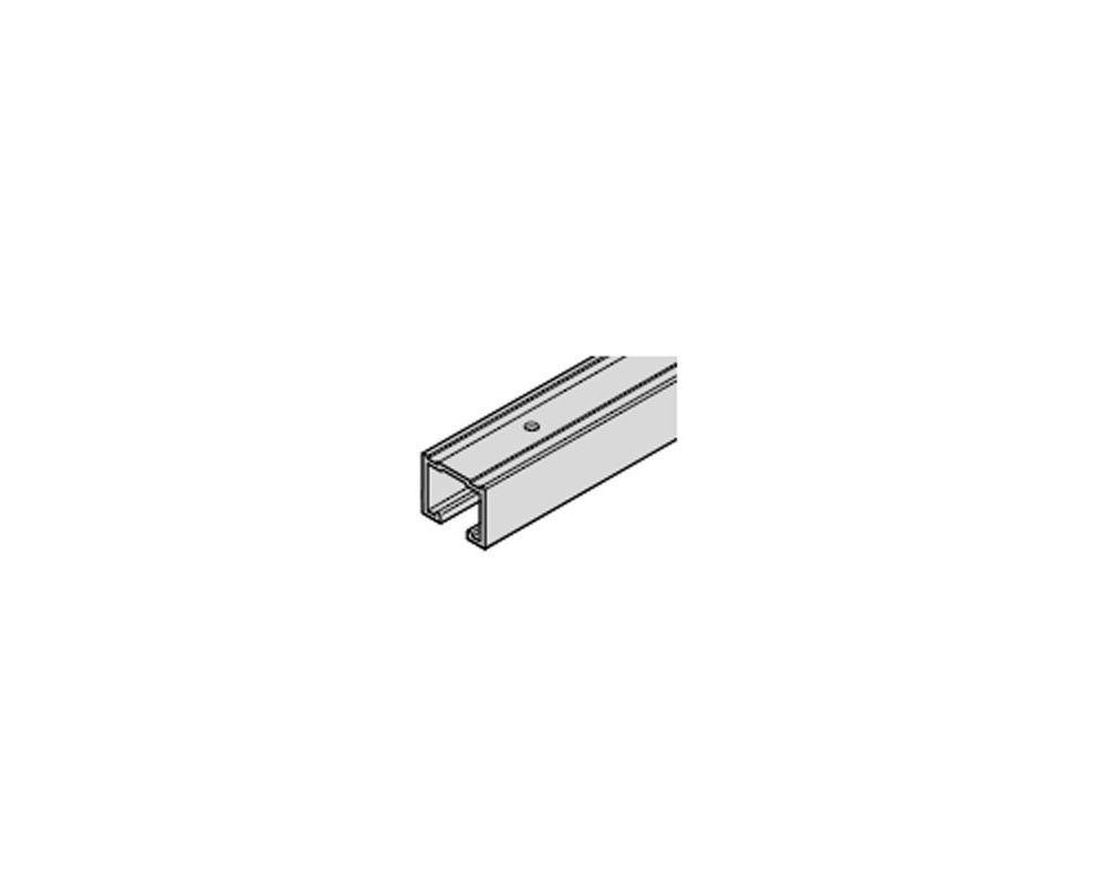 Hafele 94230600 Hawa 19 Foot 8 Inch Long Aluminum Upper Track For