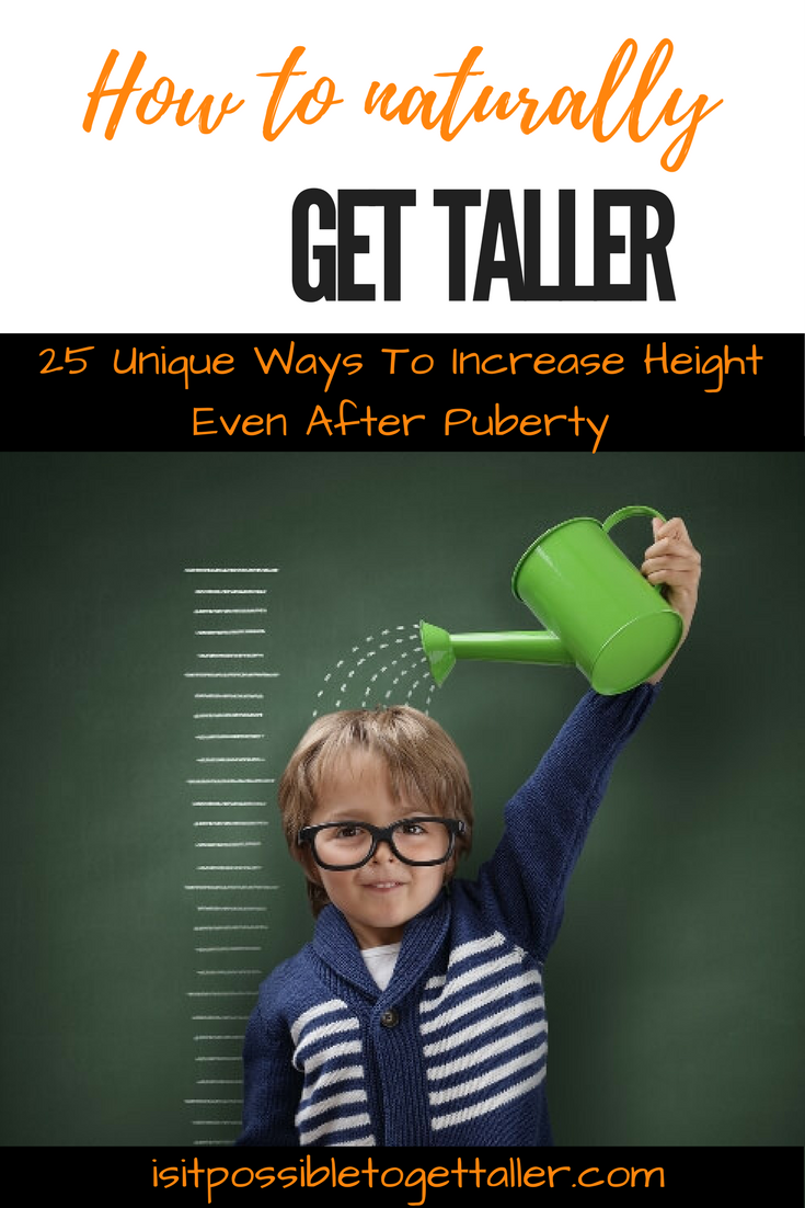 how to grow taller with diet