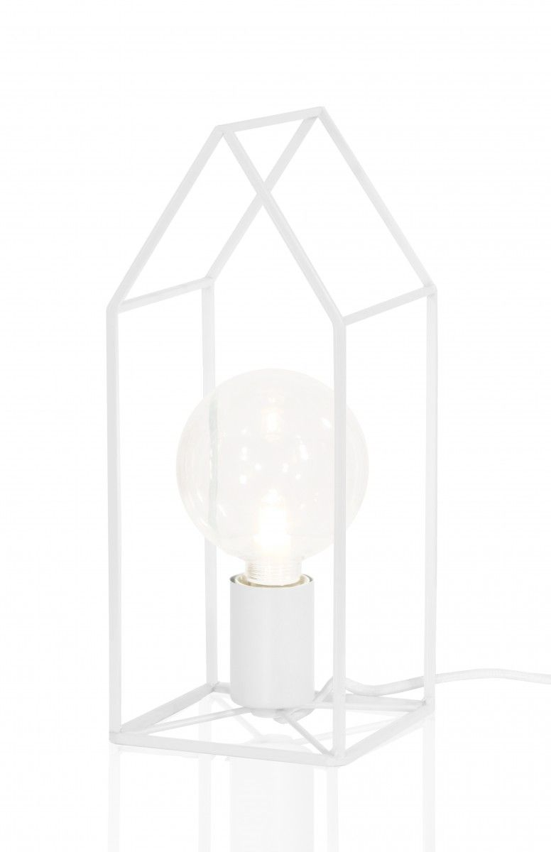 Globen Bordslampa Home Vit