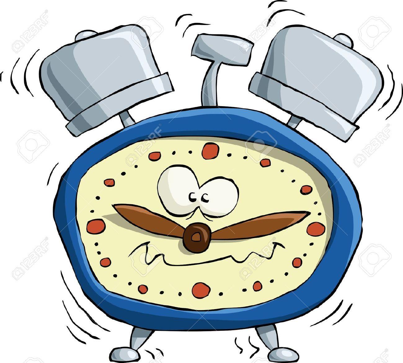 Stock Photo Reloj animado, Relojes de alarma y Ilustraciones
