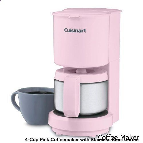 Coffee Maker Cuisinart Dcc 450 4 Cup Coffeemaker With Stainless Steel Carafe