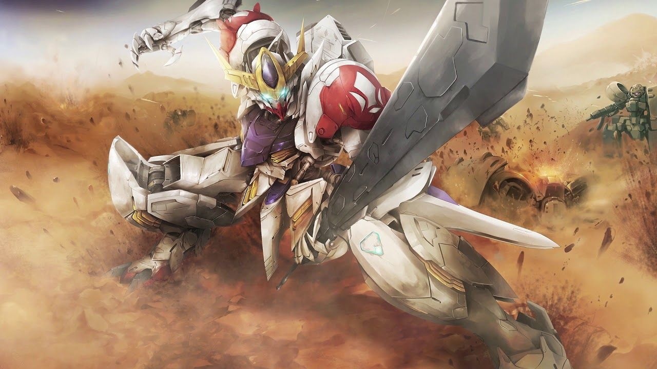 Gundam Barbatos Wallpapers For Android Gundam Wallpapers Gundam Iron Blooded Orphans Gundam Art