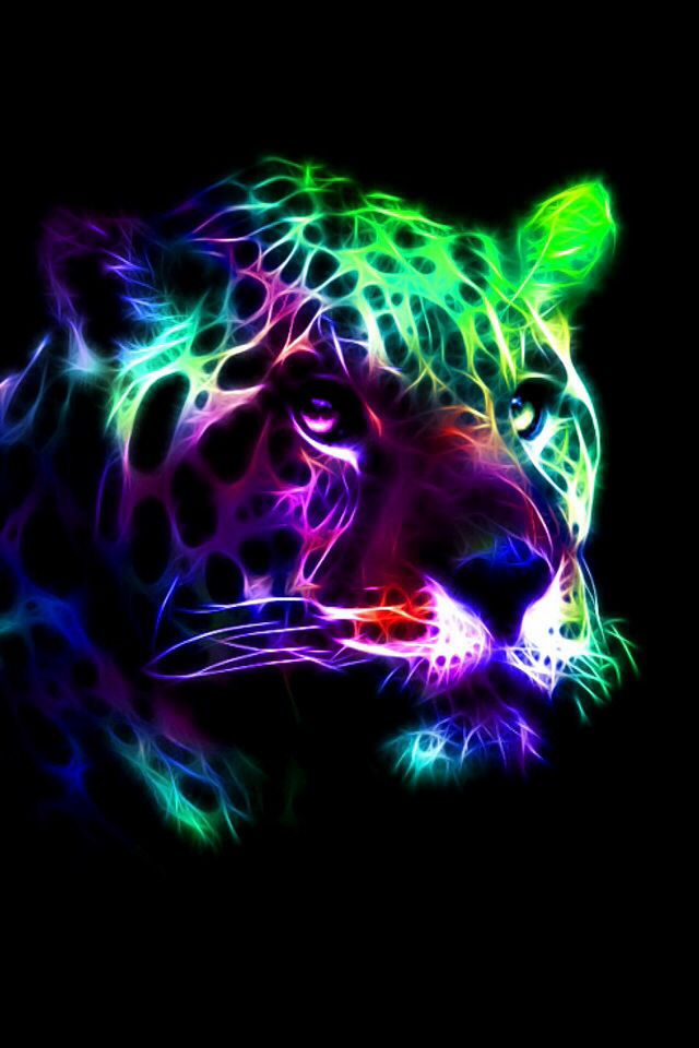 Cool Neon Tiger Backgrounds