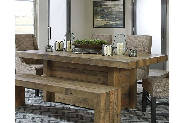Sommerford Dining Room Table By Ashley Homestore Brown