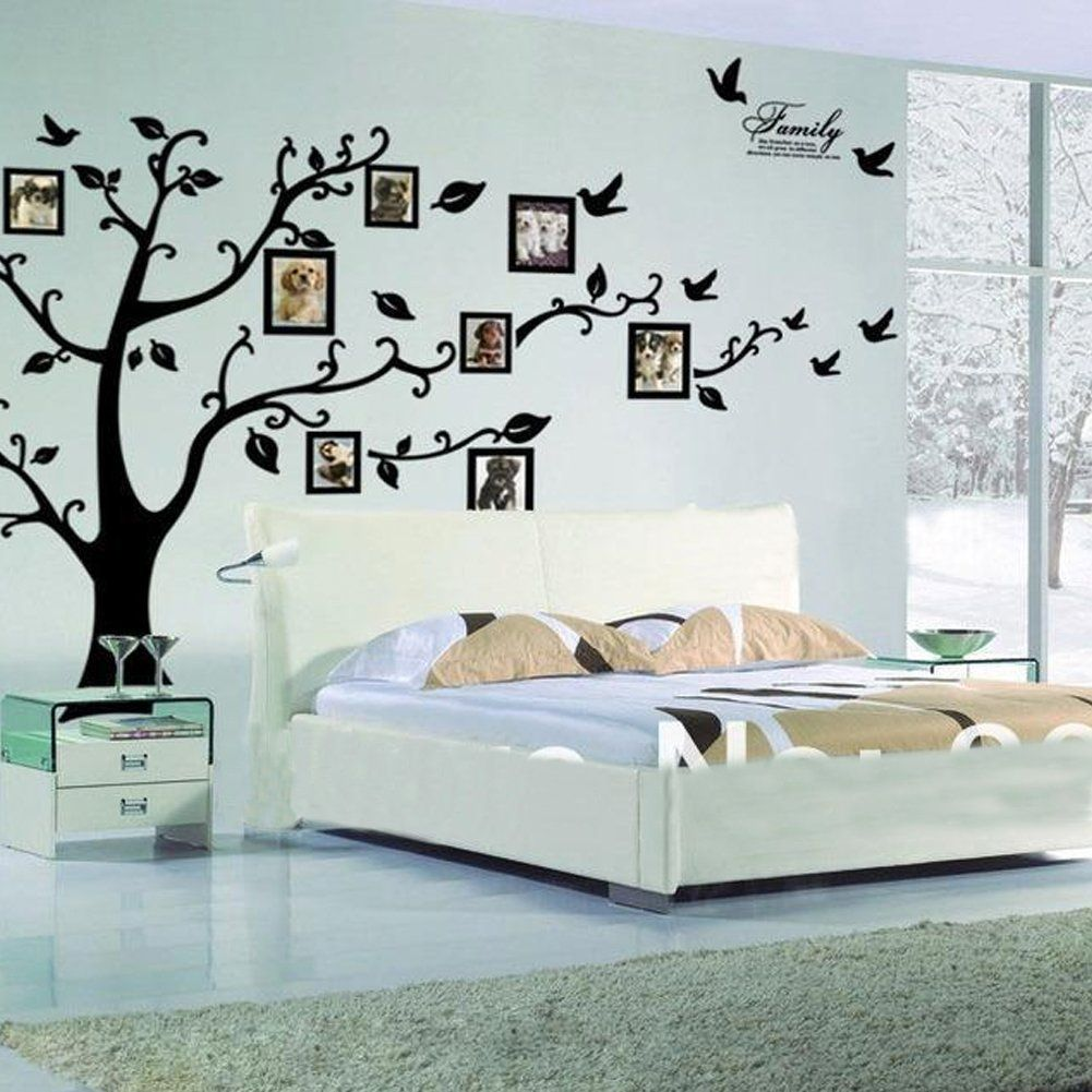 Amazon.com - HUGE XXL- Picture Frame Tree Wall Decal Quality Sticker ...