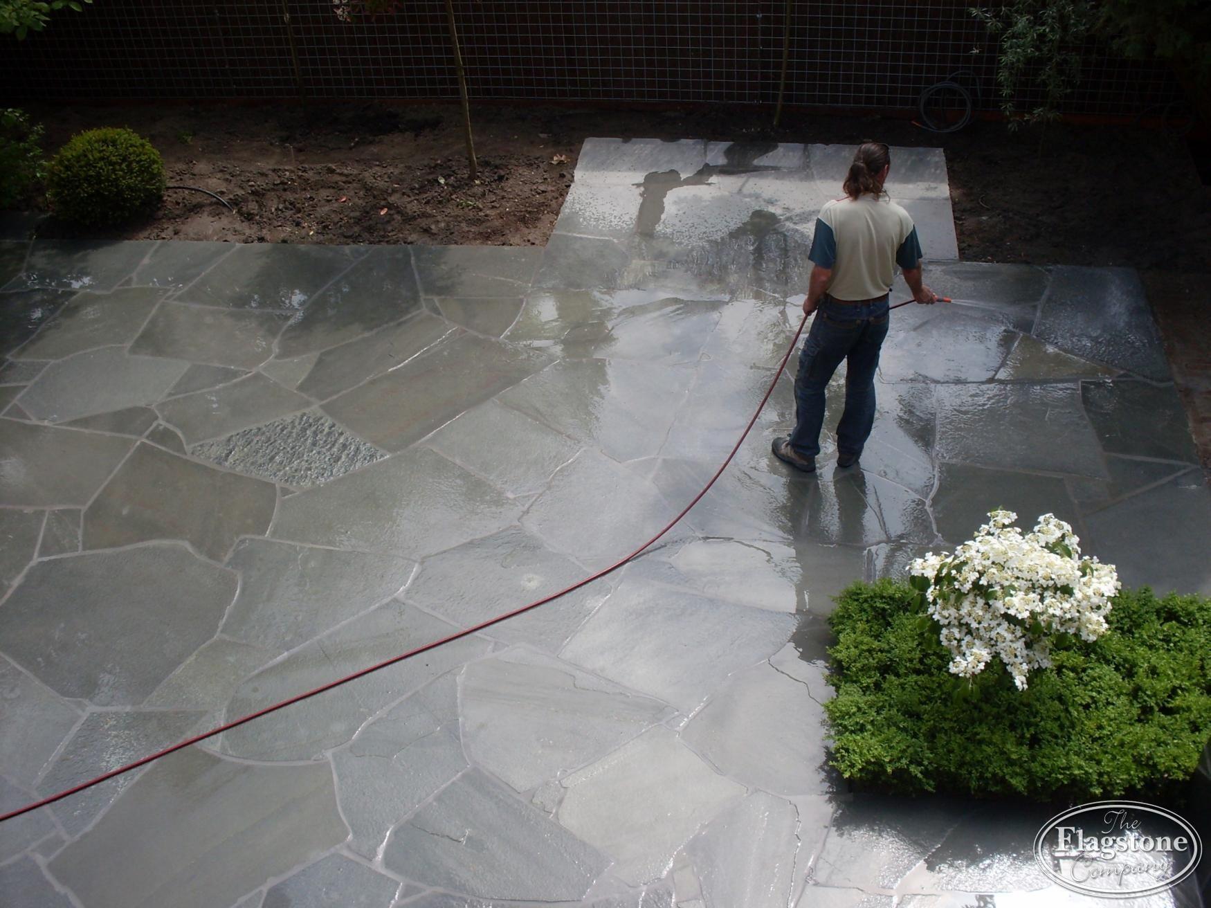 Vloeren Voor Buiten : Natuurstenen vloeren buiten grote flagstones. tuin ideeën
