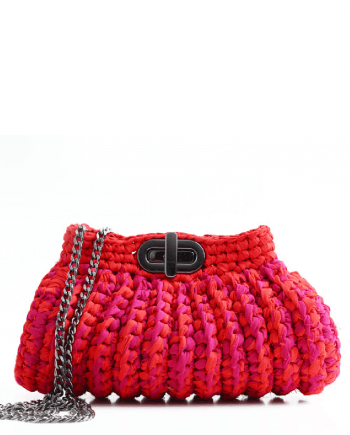c2cf0f2ba Bolsa Clutch Alvorada Catarina Mina bolsas artesanais de crochet brasileiro
