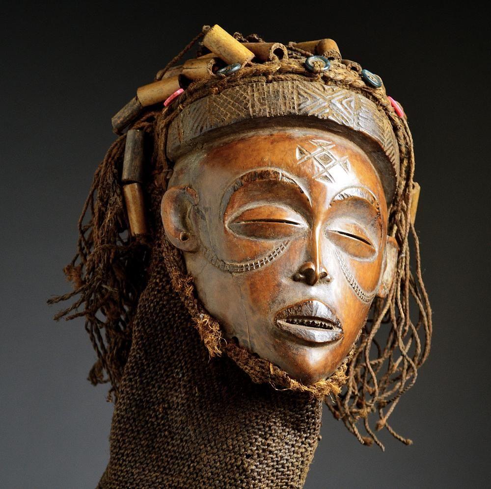 Chokwe Pwo Mask - Artenegro With African Tribal Arts Masks Of World