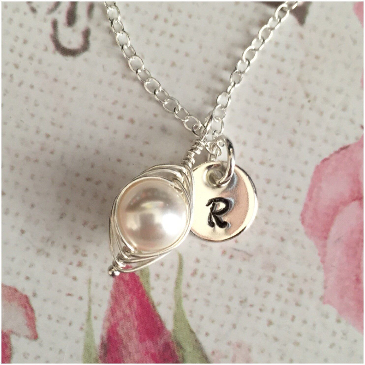 pea fullxfull necklace il jewelry sisters pod girl zoom listing
