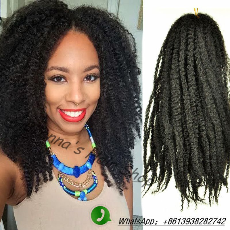 Find More Bulk Hair Information About 16 Afro Kinky Braiding Hair