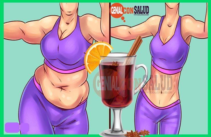 jugos naturales para adelgazar el abdomen constantemente