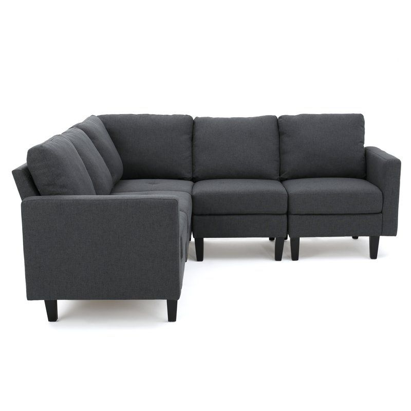 Buffum 86 Sectional Sectional Sofa Comfortable Couch Couch