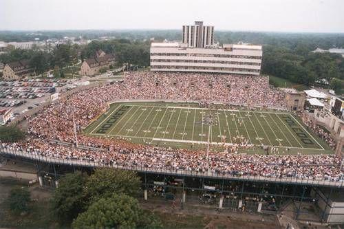 Glass Bowl Football Stadiums Toledo Toledo Rockets