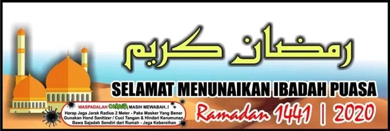 38+ Spanduk ramadhan 2020 cdr ideas