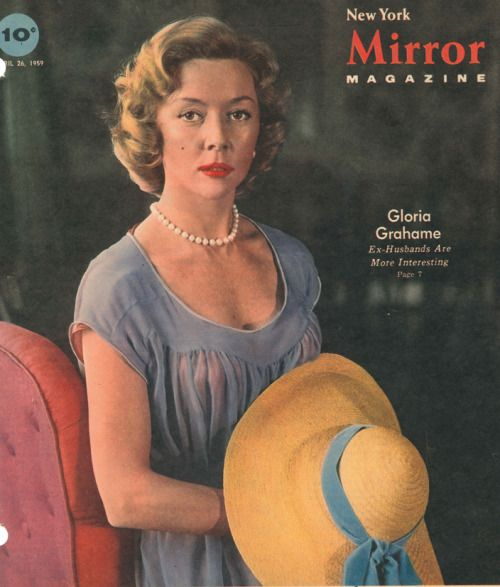 Funnster gloria grahame cover of new york mirror magazine for Sunday mirror