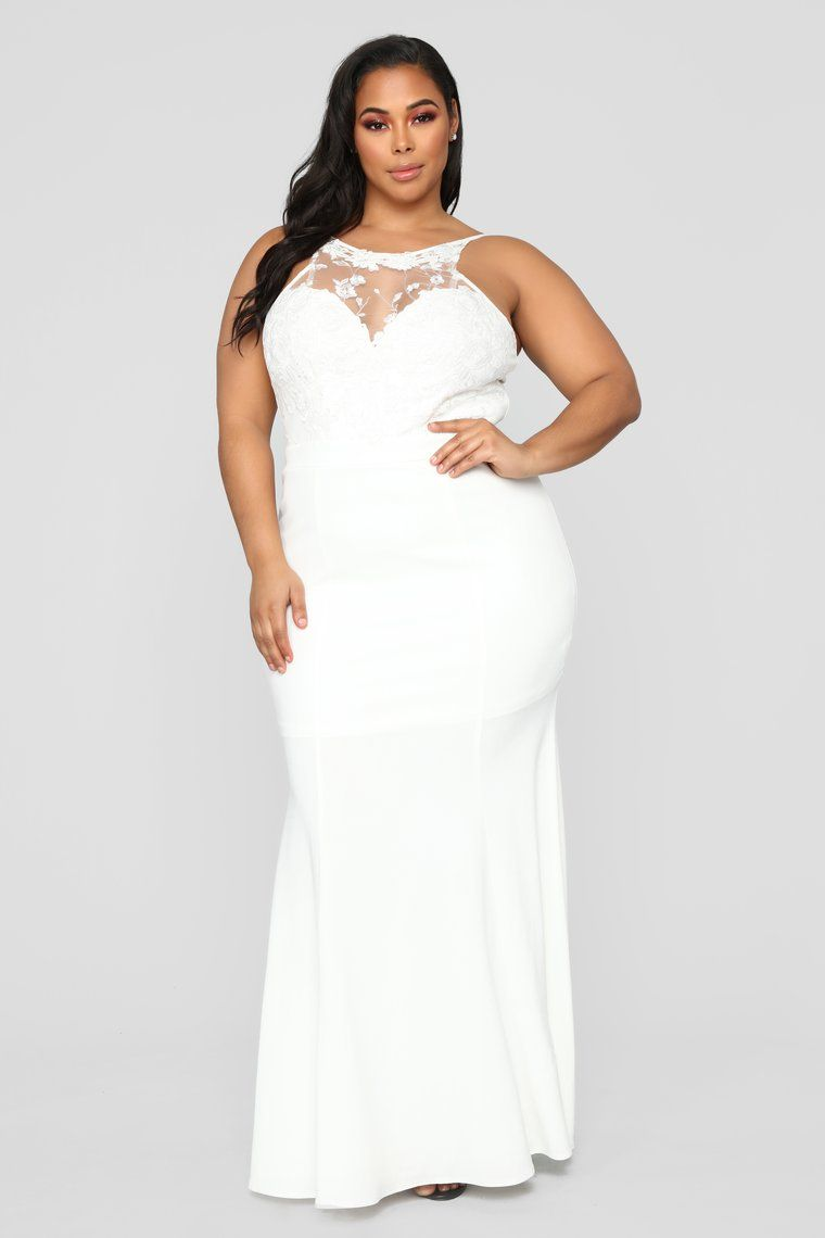 0de1562f23b Let s Slow Dance Lace Gown - Ivory in 2019