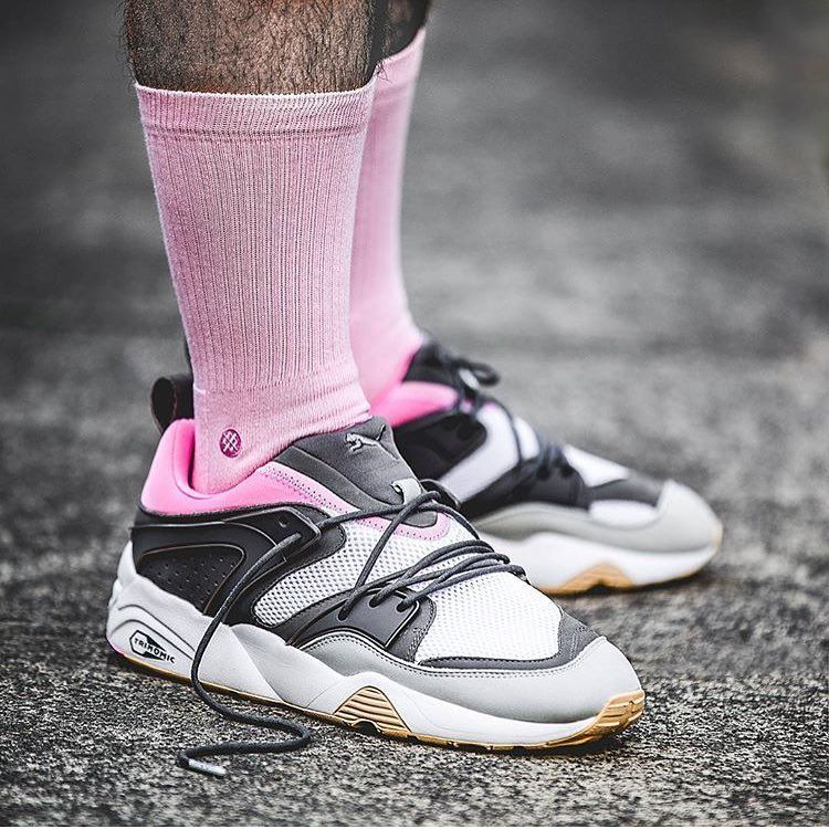 This  solebox x  puma Blaze of Glory is inspired by champagne bottles!  Great idea and beautiful colors! by   timmysmalls  sneakersmag  puma   blazeofglory ... 3cc00893b