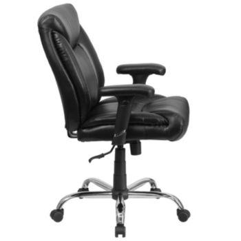 Prime Hercules Series Big Tall 400 Lb Rated Black Leather Creativecarmelina Interior Chair Design Creativecarmelinacom