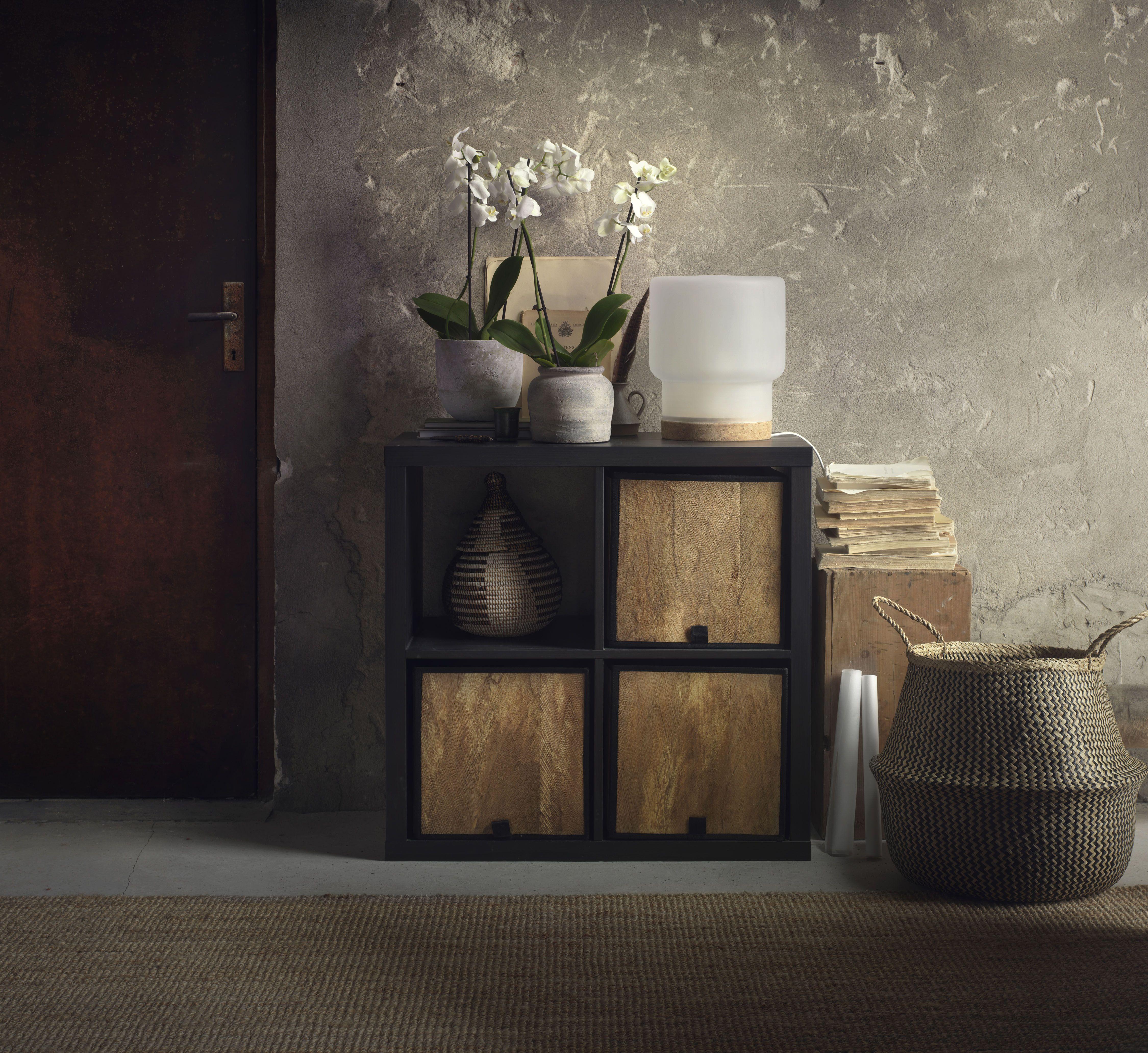 Ikea Expedit Boekenkast Zwart Bruin.Kallax Open Kast Zwartbruin Ikea Ikea Home Home Furnishings En