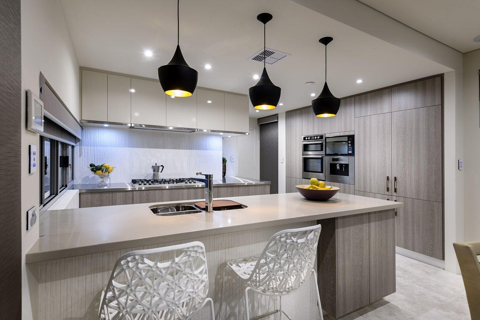 pinterest modern kitchen design Porcelanosa 'Jersey White' Tile | Switch Homes Display
